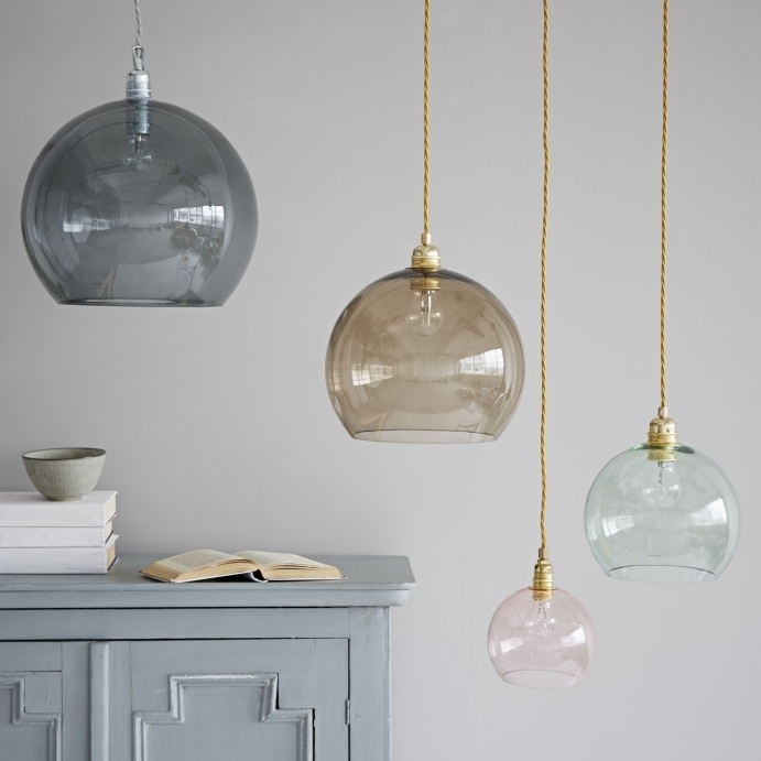 Great Premium Coloured Glass Pendant Lights With Glass Pendant Lights (Image 13 of 25)