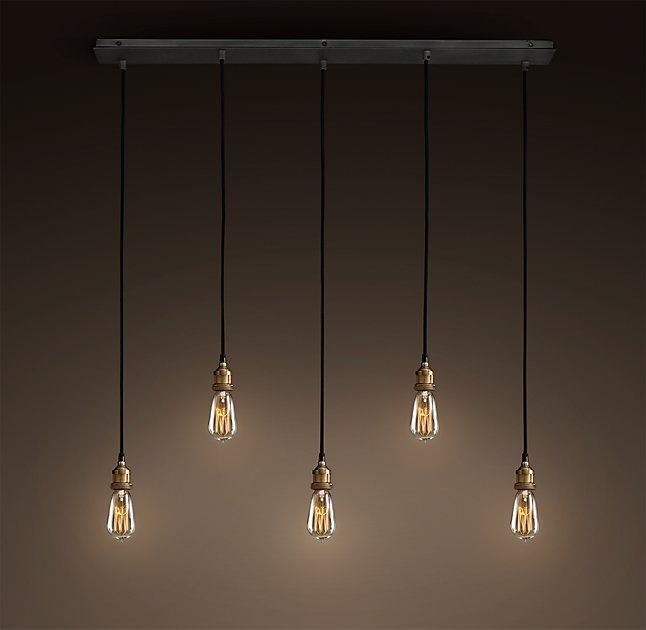 Great Series Of Bare Bulb Filament Triple Pendants With Regard To 137 Best Pendant Lights Images On Pinterest (Image 12 of 25)