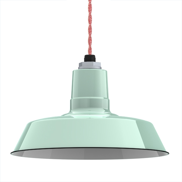 Great Top Barn Pendant Light Fixtures In Ivanhoe Sky Chief Porcelain Enamel Pendant Barn Light Electric (Image 12 of 25)