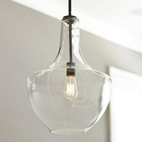 Great Top Glass Jug Pendants Within Fancy Glass Pendant Lighting Glass Jug Pendant Shades Of Light (Image 12 of 25)