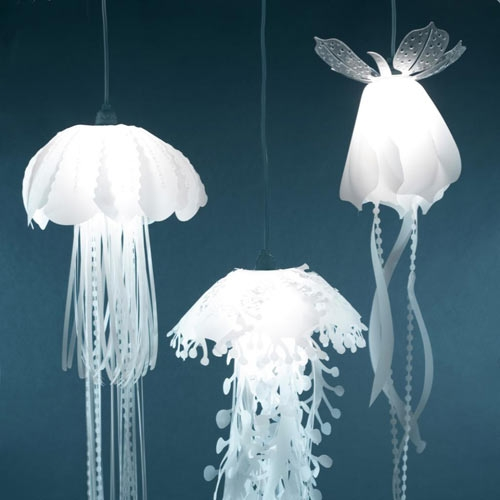 Great Trendy Jellyfish Inspired Pendant Lights Pertaining To Jellyfish Lighting Ideas For Your Home Ultimate Home Ideas (View 5 of 25)