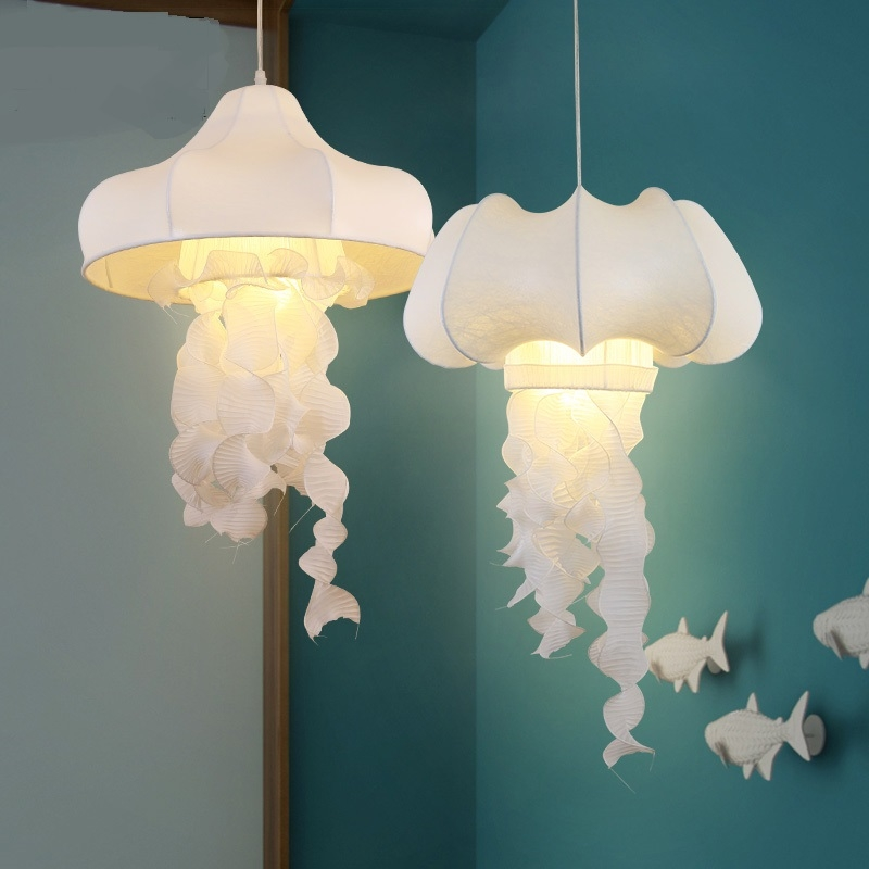 Great Trendy Jellyfish Pendant Lights For Popular Jellyfish Pendant Lamp Buy Cheap Jellyfish Pendant Lamp (Image 10 of 25)