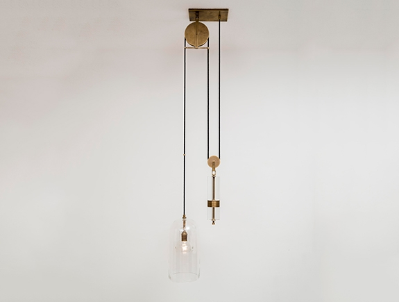 Great Trendy Pulley Pendant Lights Throughout Holly Hunt (Image 10 of 25)