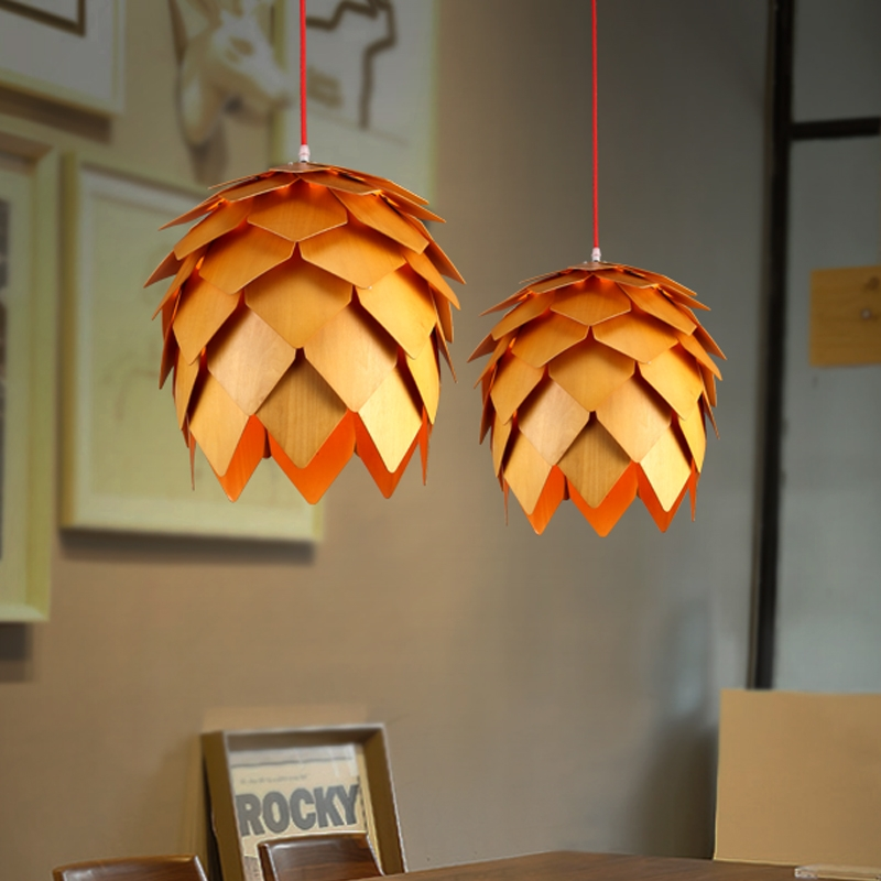 Great Unique Wooden Pendant Lights For Sale Inside Compare Prices On Wood Pendant Light Online Shoppingbuy Low (Photo 24 of 25)