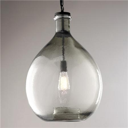 Great Variety Of Glass Jug Pendants Within Oversized Glass Jug Pendant Oversized Glasses Glass And Lights (Image 14 of 25)