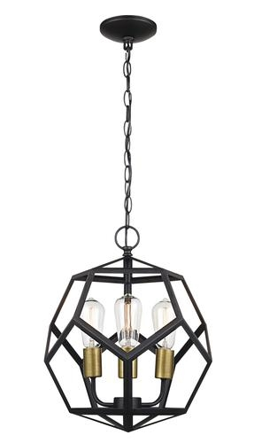 Great Variety Of Patriot Lighting Pendants With Regard To Patriot Lighting Suzanna 3 Light Oil Rubbed Bronze Pendant Light (Image 15 of 25)