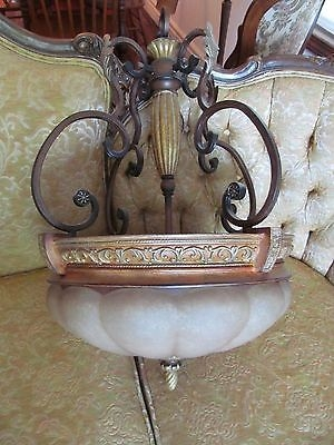 Great Wellknown Hampton Bay Pendants Pertaining To Hampton Bay Chareau Deville 3 Light Bowl Pendant Walnut Whats (Image 12 of 25)