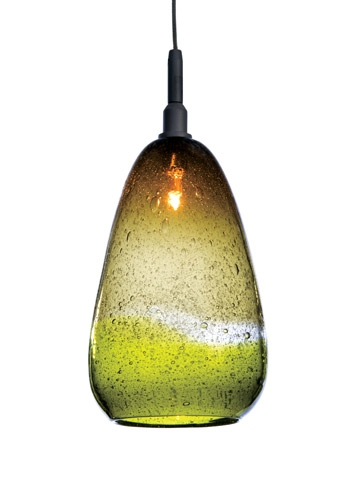Great Wellknown Hand Blown Glass Pendant Lights With Blown Glass Artist Tracy Glovers Monopoint Pendant Collection Of (Image 12 of 25)