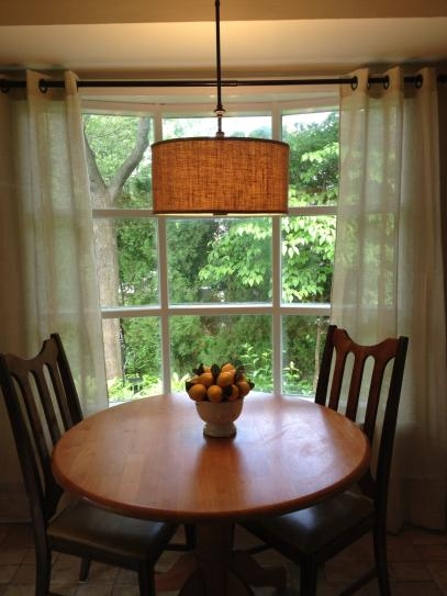 Great Wellliked Hampton Bay Pendants With Hampton Bay Quincy 3 Light Oil Rubbed Bronze Drum Pendant With (Image 13 of 25)