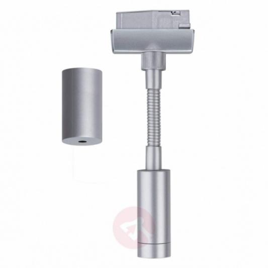 Great Widely Used Hampton Bay Pendants For Hampton Bay Brushed Steel Adapter Flexible Track Pendant Ec0210ba (Image 14 of 25)