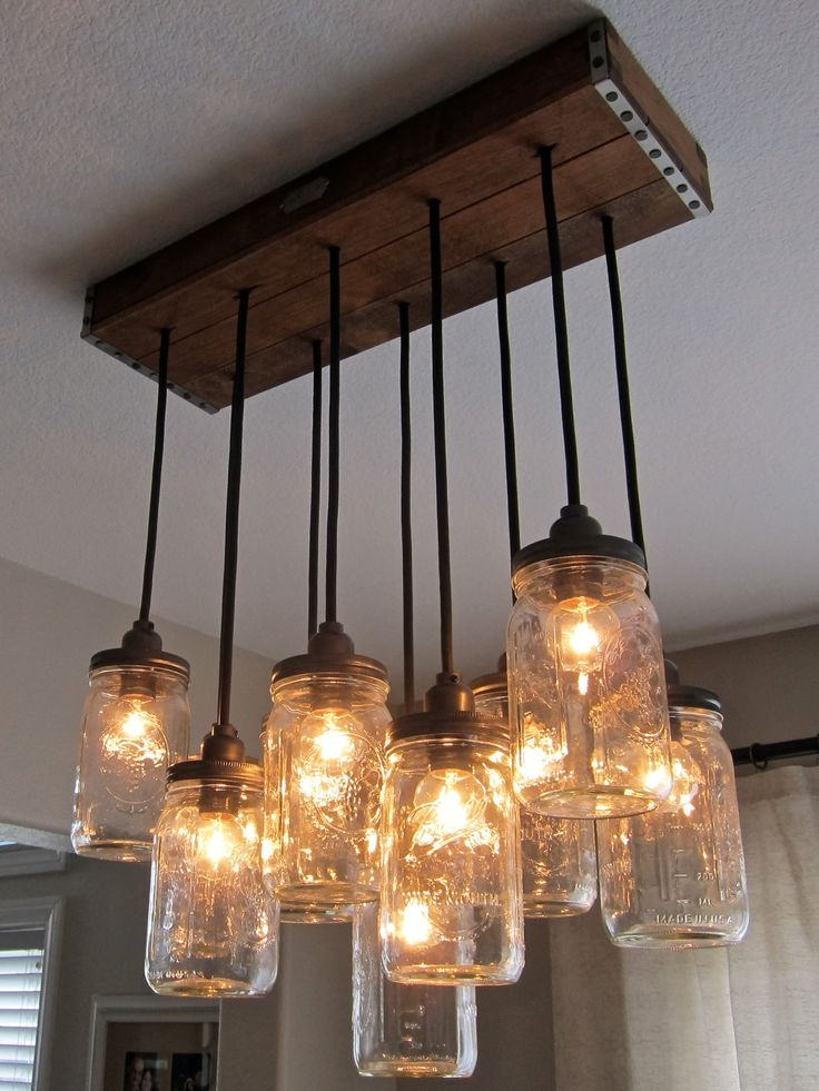 Great Widely Used Mason Jar Pendant Lamps Inside Confortable Mason Jar Pendant Lights Epic Pendant Decor Ideas With (Photo 21 of 25)
