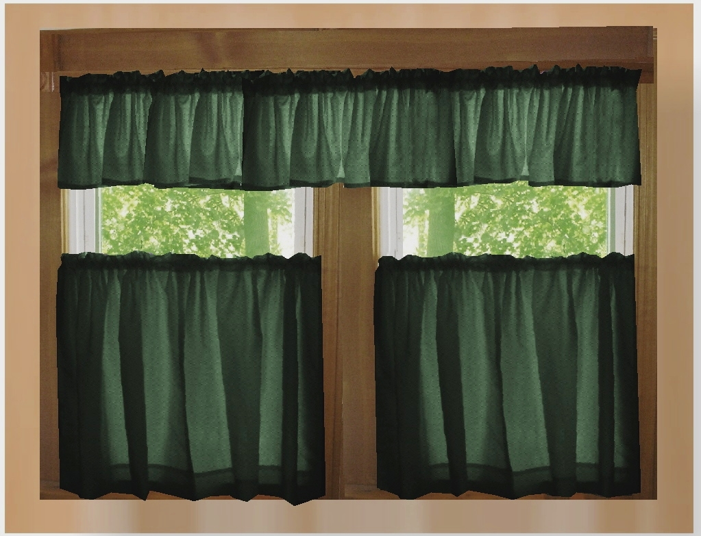 Green Kitchen Curtains Designs Windows Curtains In Sage Green Kitchen Curtains (Image 10 of 25)