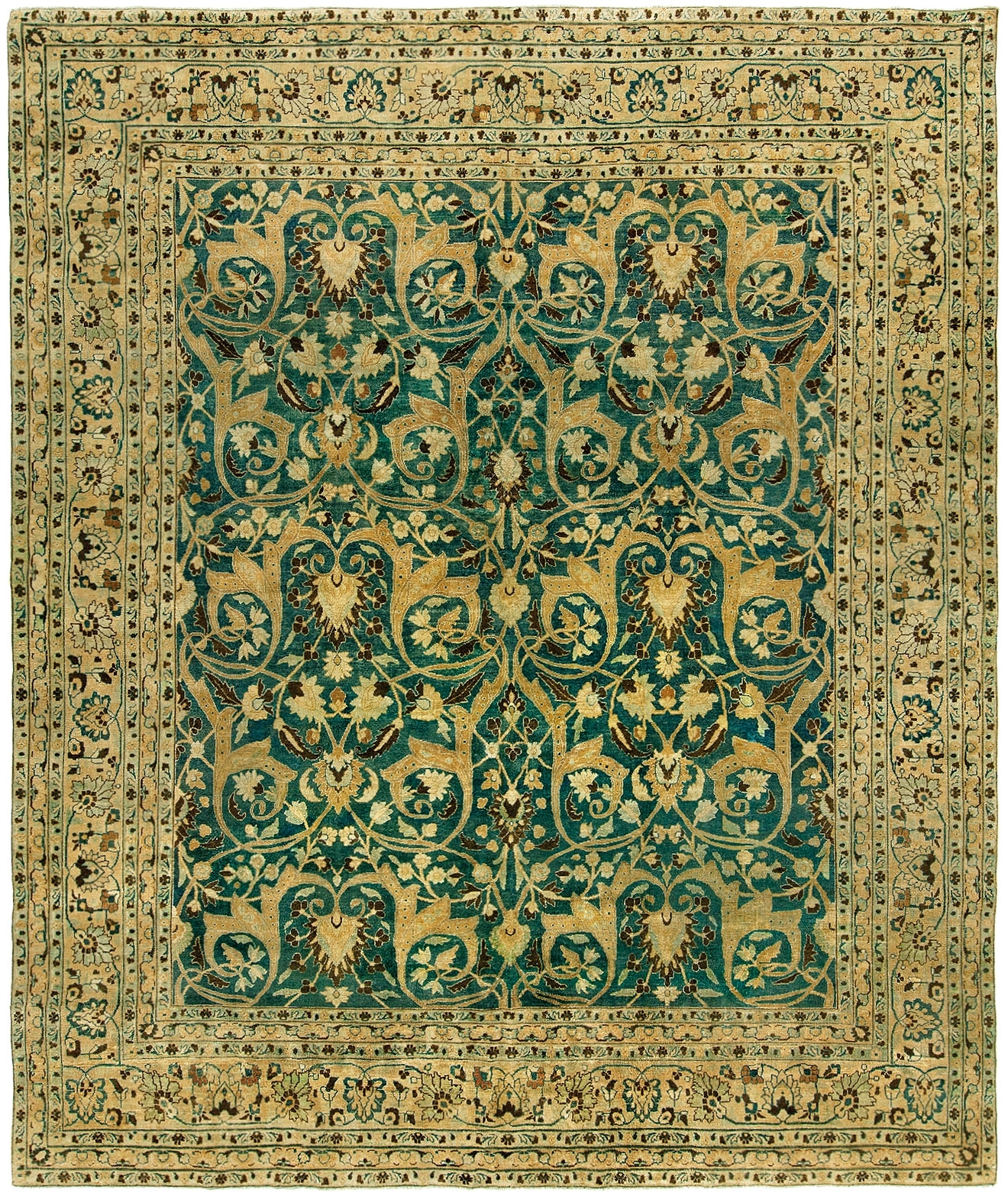 Featured Image of Green Persian Rugs