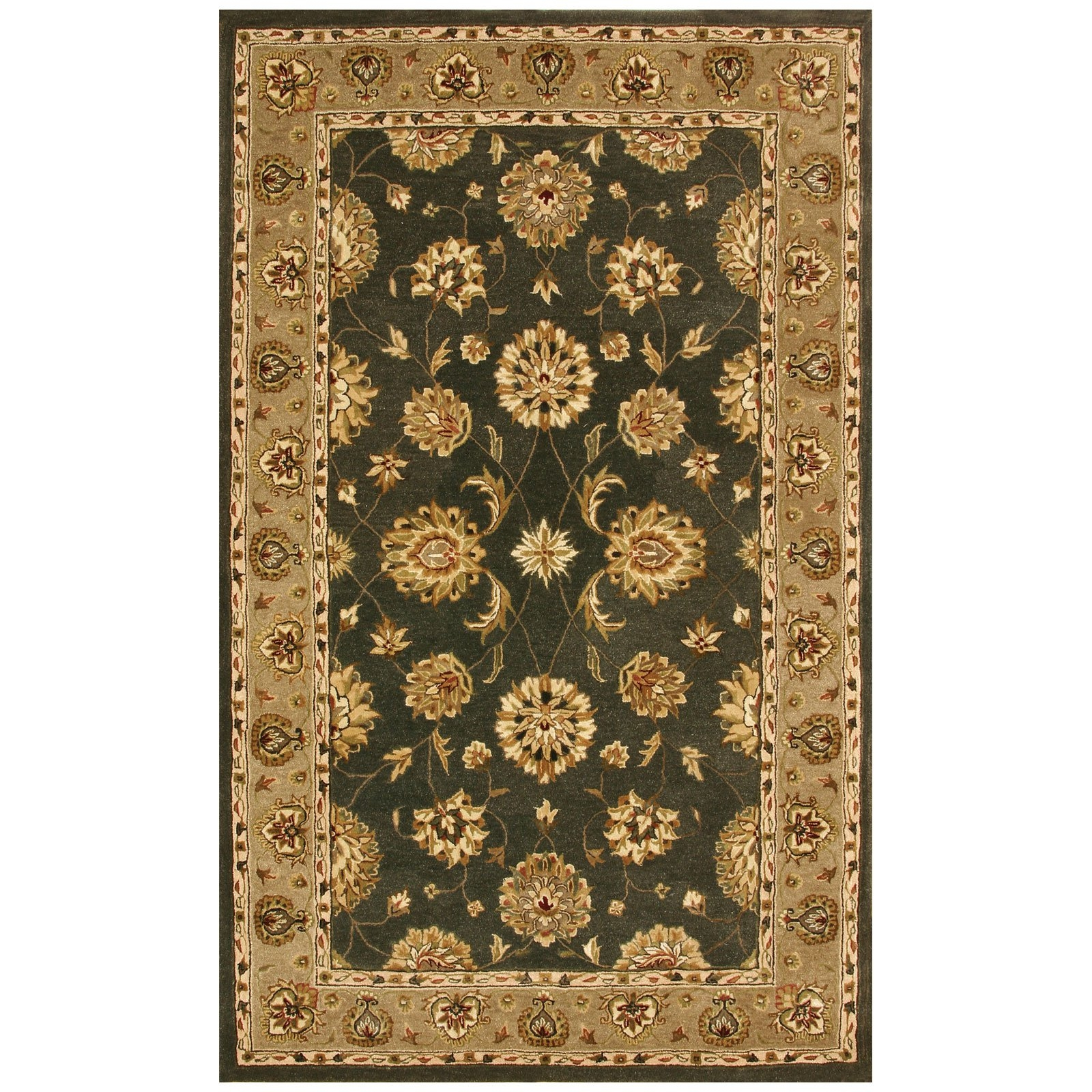 Green Persian Rugs Roselawnlutheran Regarding Green Persian Rugs (Image 12 of 15)