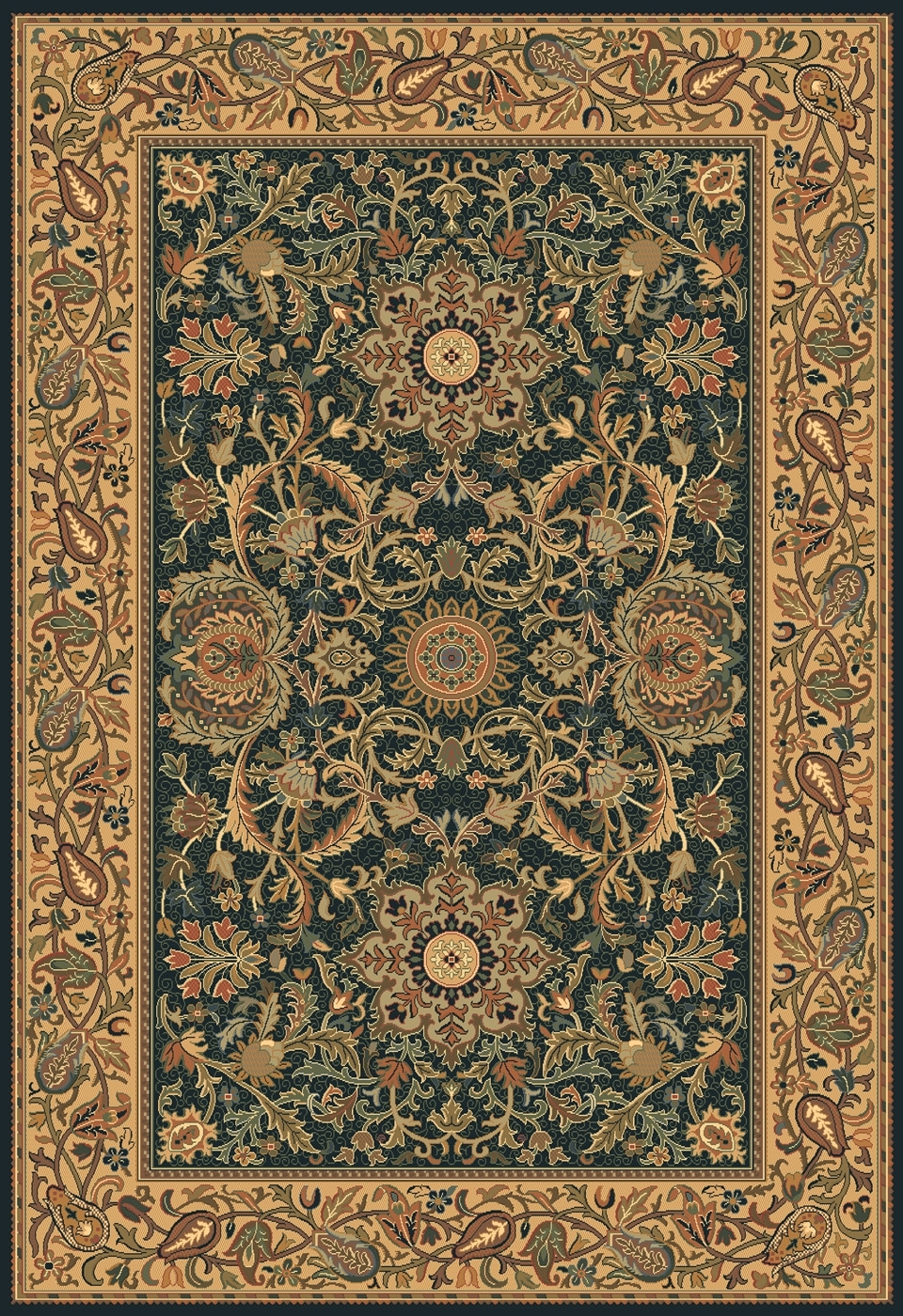 15 Best Green Persian Rugs Area Rugs Ideas