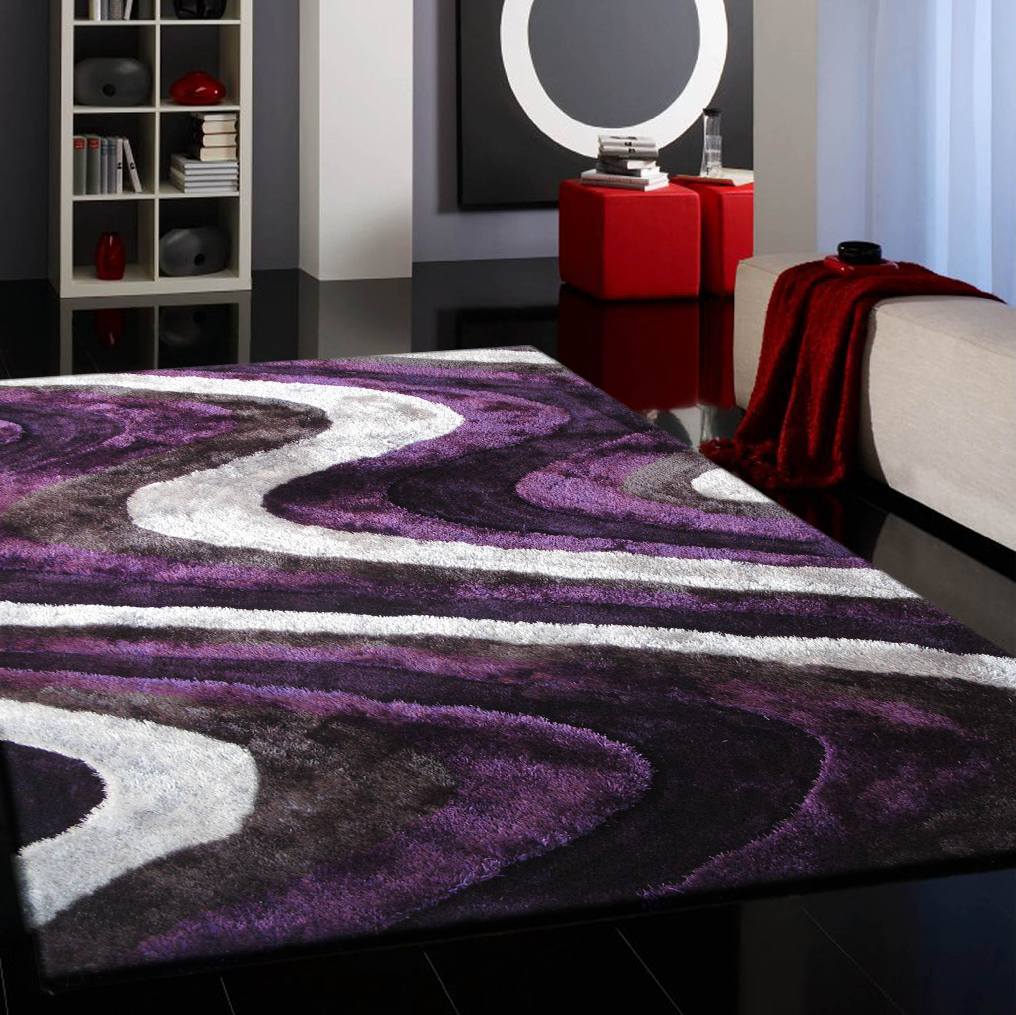 Grey And Purple Area Rug As Cheap Area Rugs Perfect Oriental Rug With Regard To Cheap Silver Rugs (Image 4 of 15)