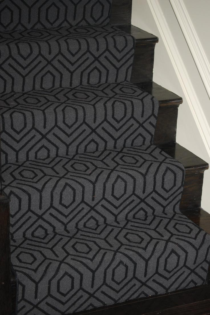 Grey Carpet Stair Treads Best Decor Things Intended For Grey Carpet Stair Treads (Image 10 of 15)