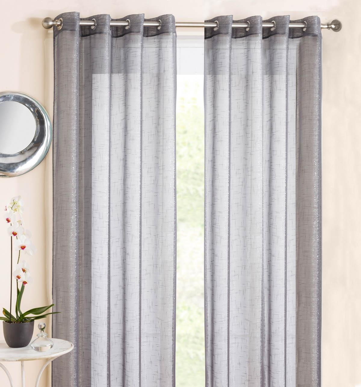 Grey Curtains Modern Curtains Terrys Fabrics With Regard To Grey Eyelet Curtains (Image 11 of 25)
