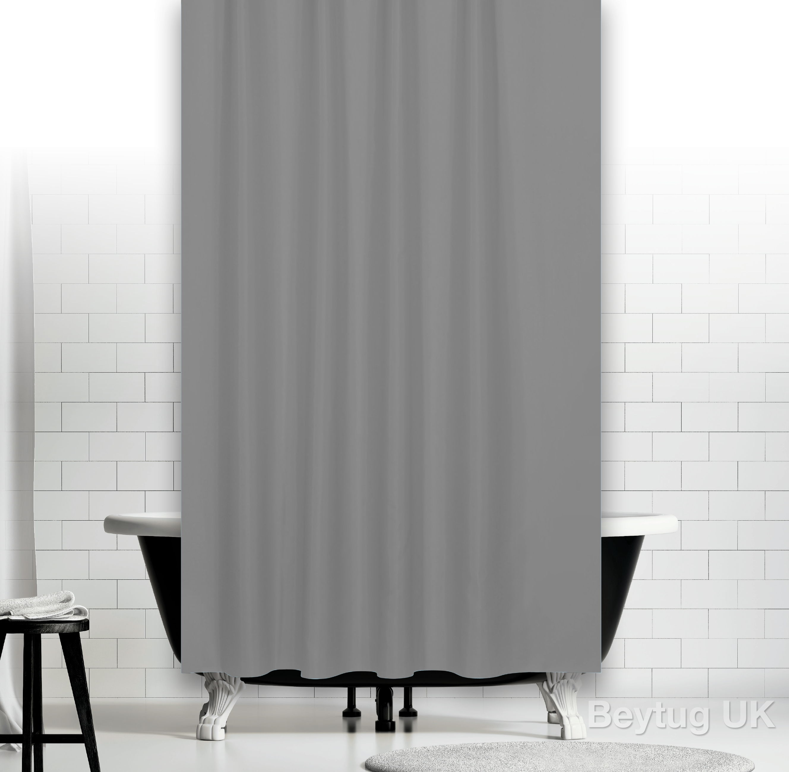 Grey Shower Curtains Curtains Decoration Inside Gray Chevron Shower Curtains (Image 11 of 25)