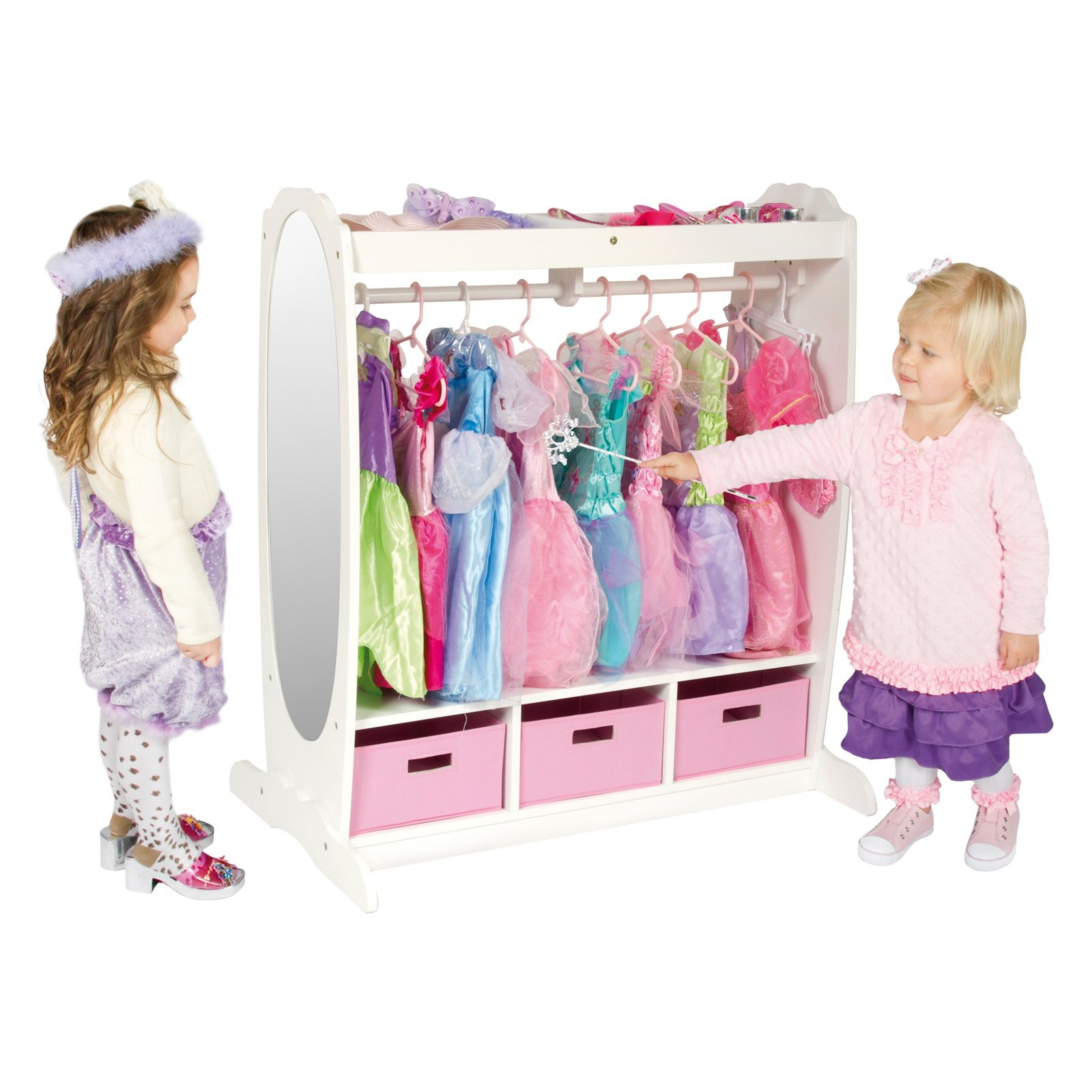 Dress Up Pretend Play Images On: 25+ Kids Dress Up Wardrobe Closet