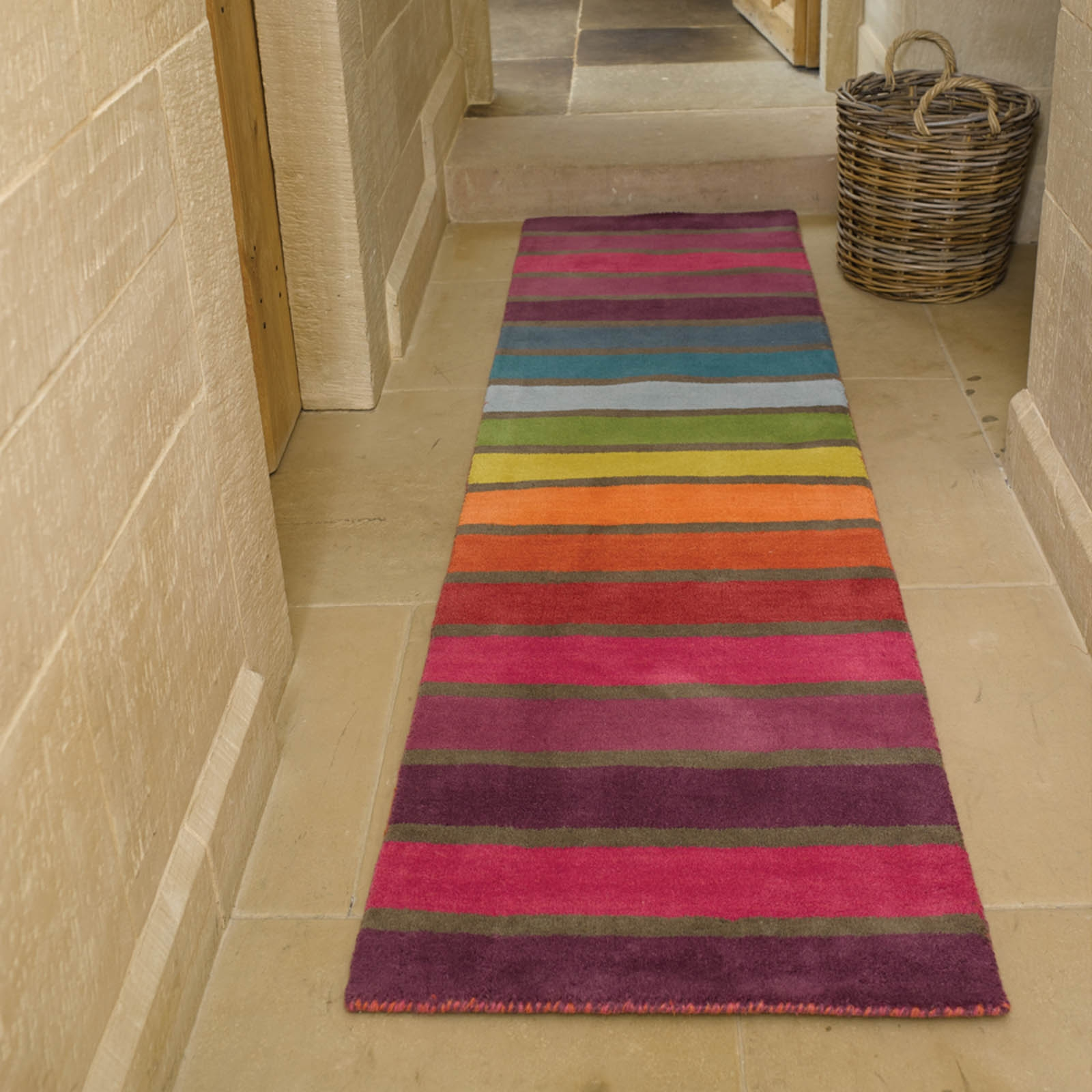 Hallway Runner Rugs Uk Roselawnlutheran With Regard To Wool Hall Runners (Image 8 of 15)