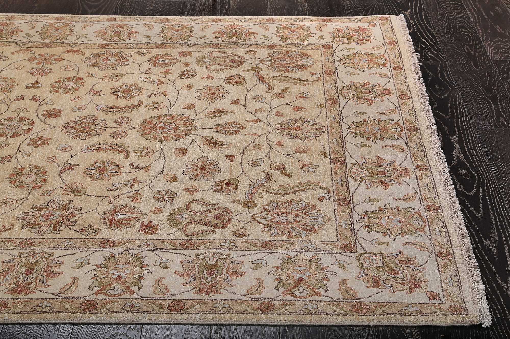 Hand Knotted Wool Rug Roselawnlutheran Pertaining To Persian Style Wool Rugs (Image 5 of 15)
