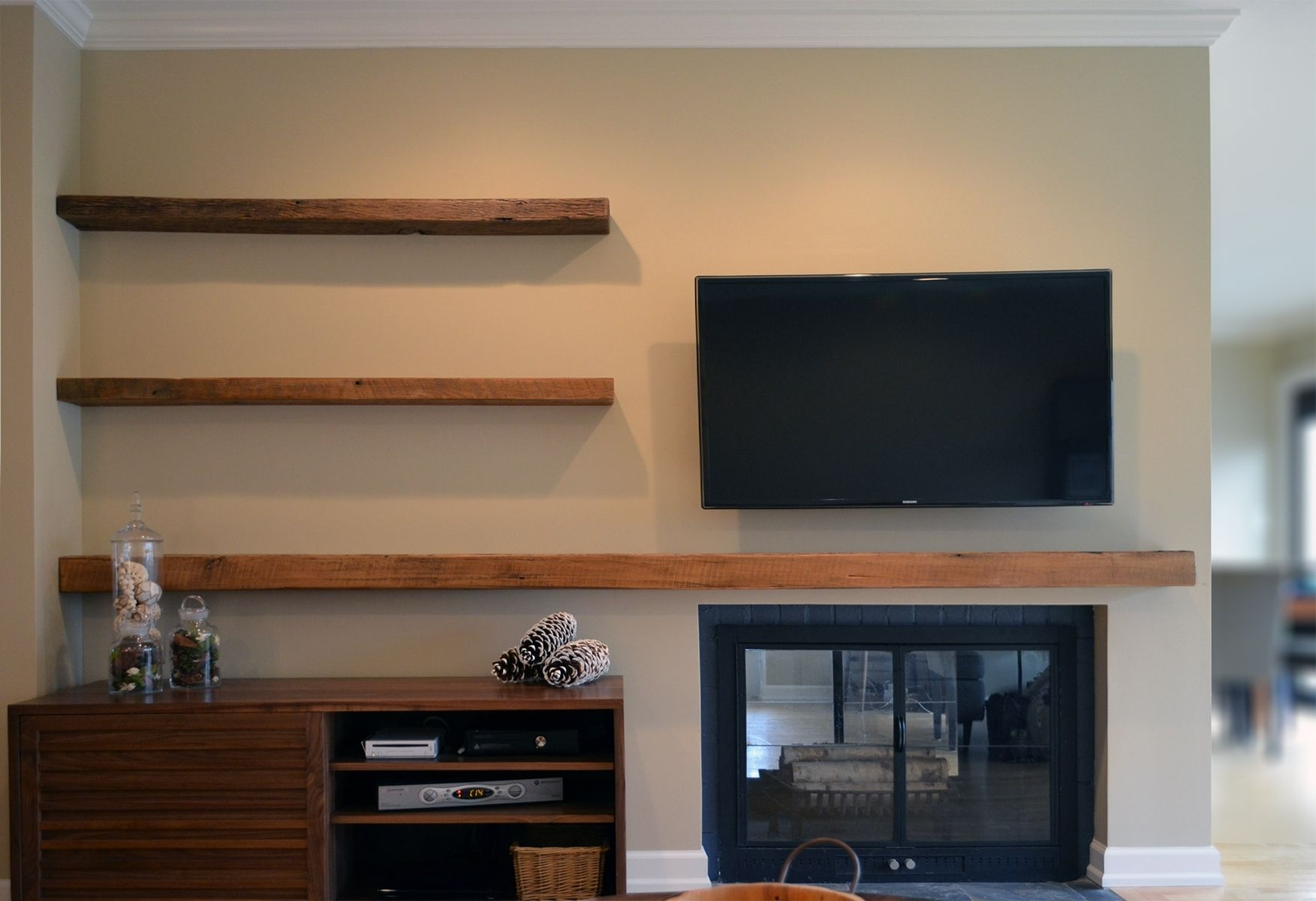 Featured Image of Custom Floating Shelves