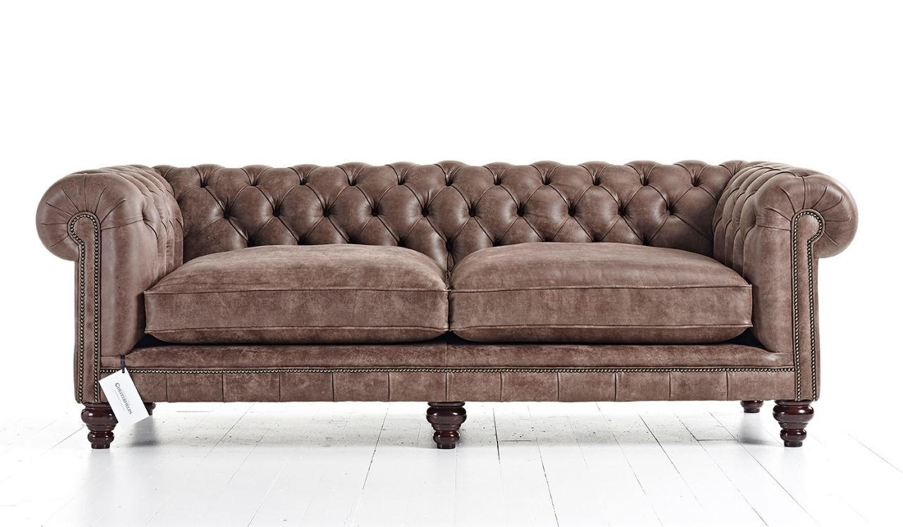 Handmade Chesterfield Sofas Distinctive Chesterfields Usa In Chesterfield Sofas (Image 13 of 15)
