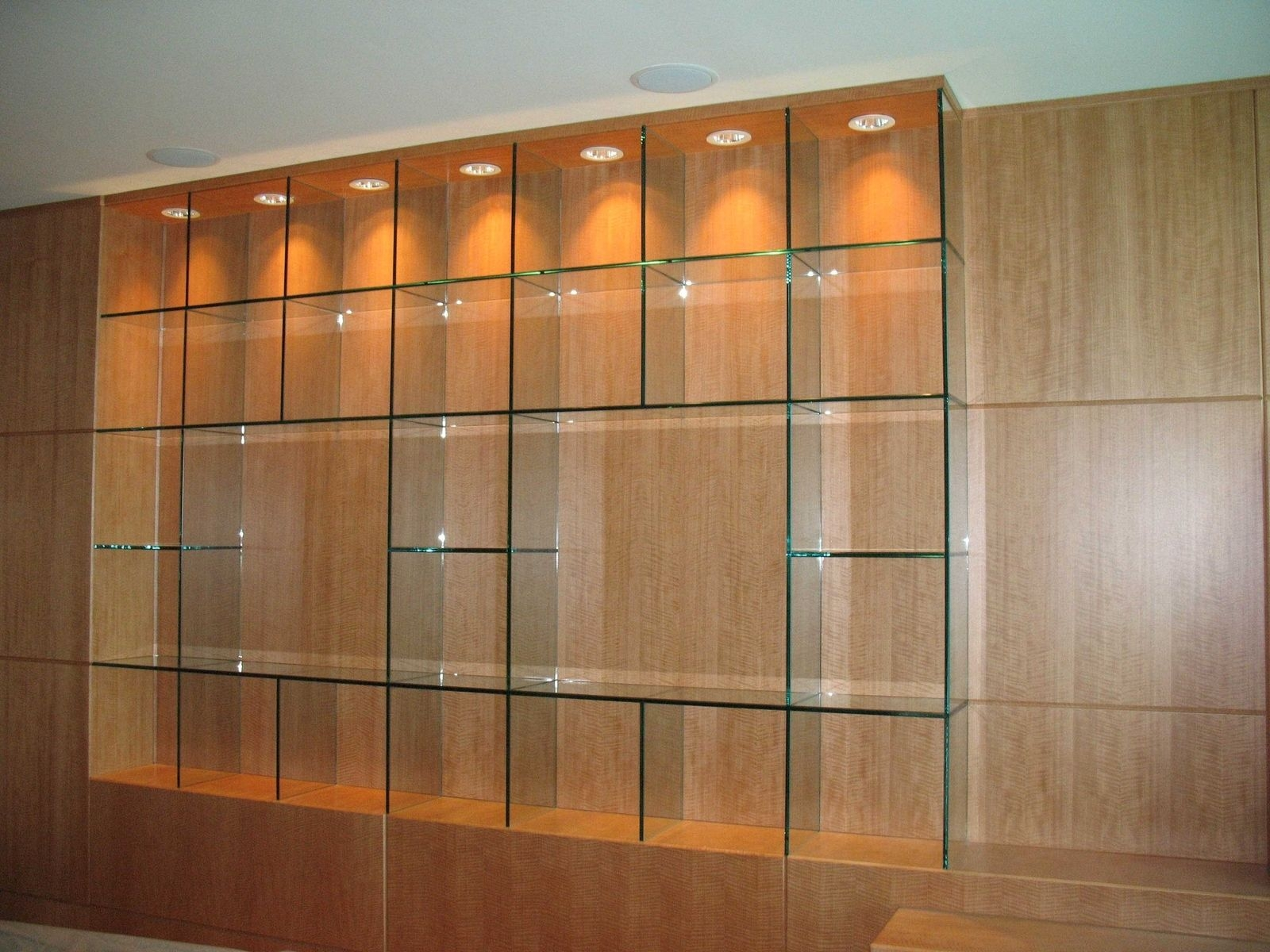 Handmade Glass Shelves Knock On Glass Custommade Pertaining To Glass Shelves (Image 8 of 15)