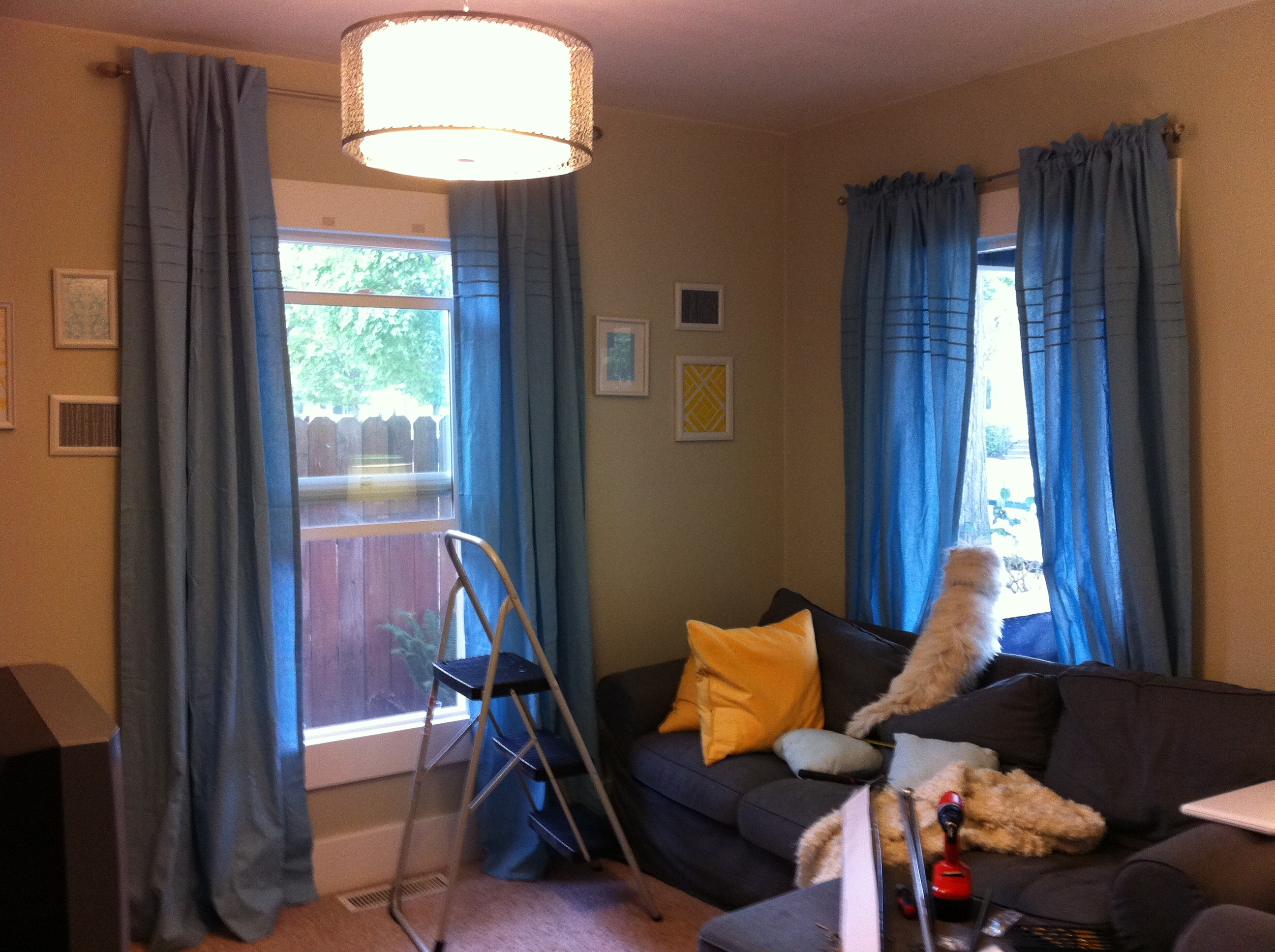 Hanging Curtains Best 25 How To Hang Curtains Ideas Only On For Hanging Curtains (View 8 of 25)