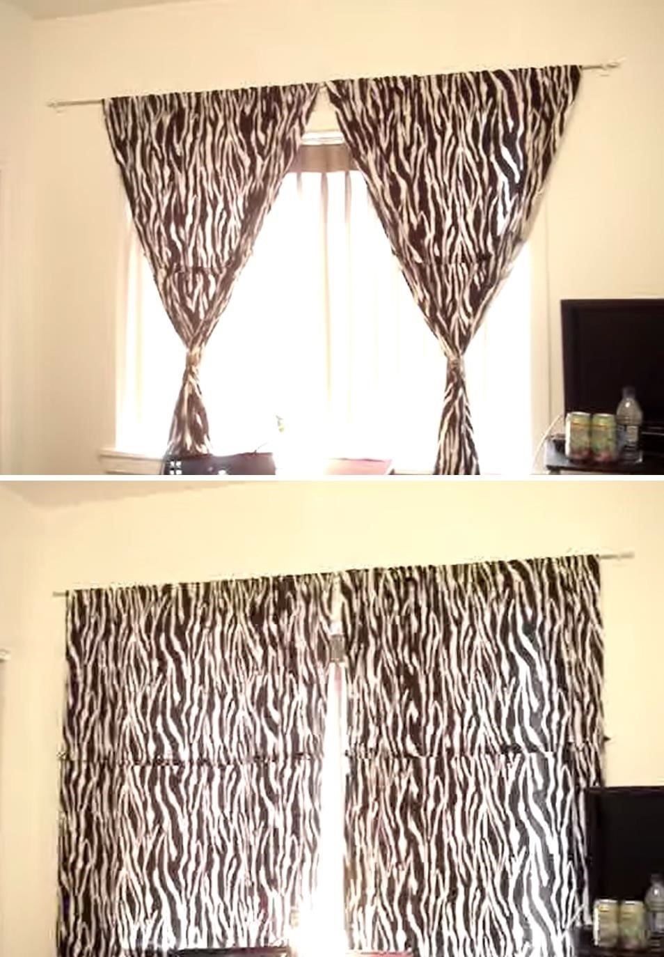 Hanging Curtains Best 25 How To Hang Curtains Ideas Only On Within Hanging Curtains (View 9 of 25)