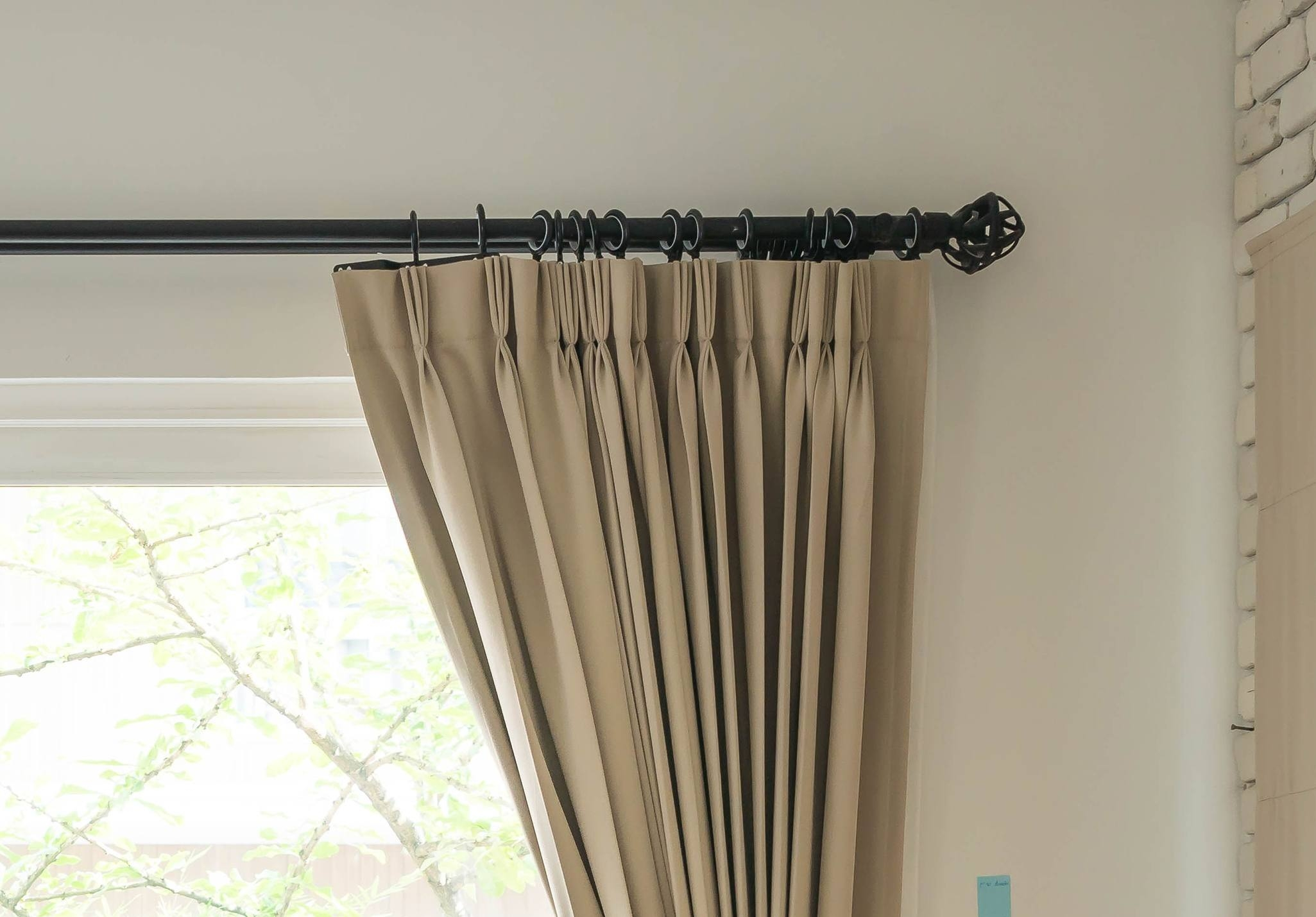 Hanging Curtains On Poles Designs Windows Curtains With Hanging Curtains (View 15 of 25)
