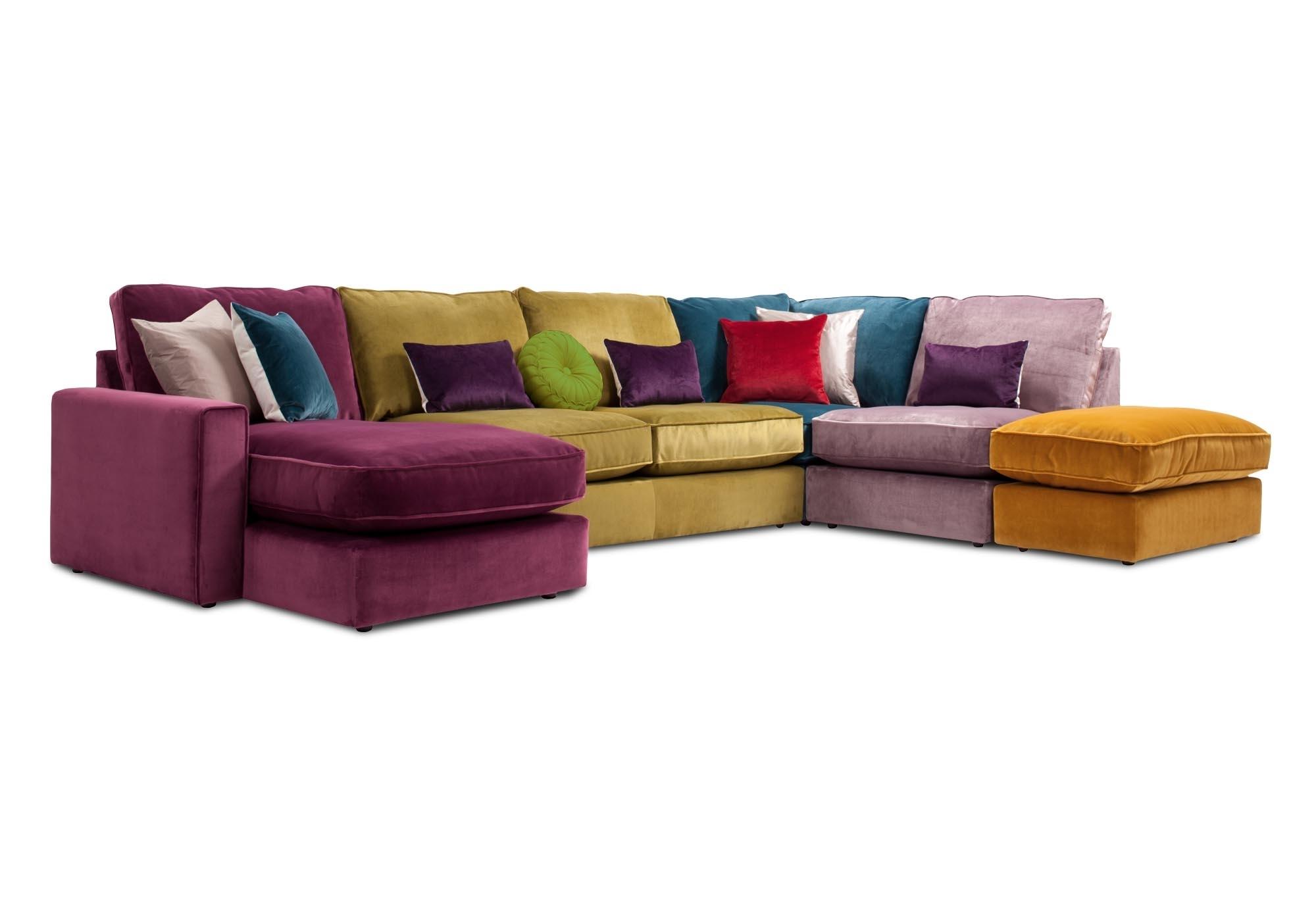 Harlequin Lhf 5 Seater Corner Sofa At Furniture Village Regarding Corner Sofa Chairs (Image 10 of 15)