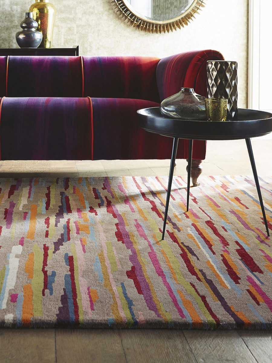 Harlequin Nuru Tabasco 42902 Modern Multi Colour Rugs Pinterest Pertaining To Harlequin Rugs (Image 3 of 15)