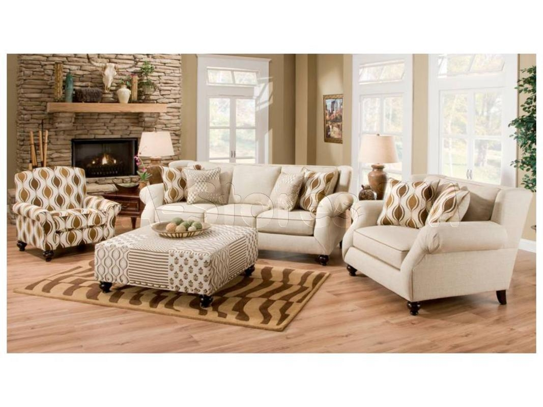 Hazel Simply Linen 4 Pc Sofa Set Sofa Chair Accent Chair And With Regard To Sofa And Chair Set (Image 8 of 15)