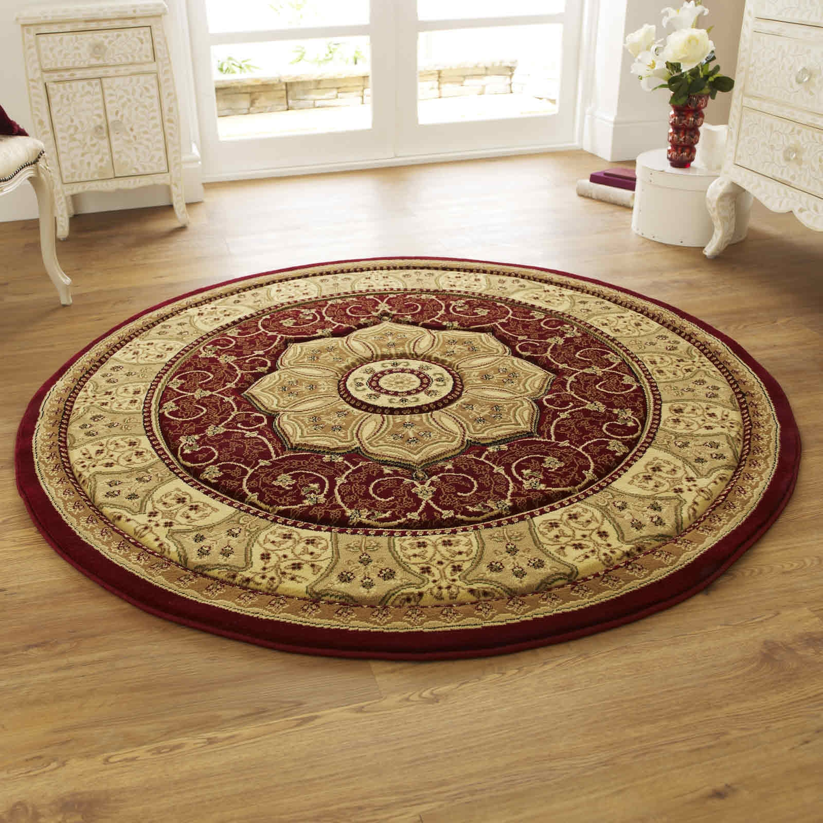 Heritage Circular Rugs Buy Online For Huge Savings Inside Circular Rugs (View 6 of 15)