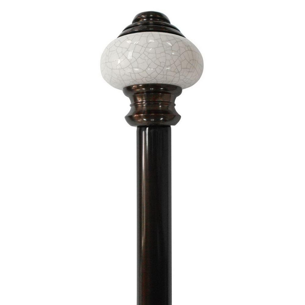 Home Decorators Collection 66 In 120 In Telescoping 34 In Regarding Antique Curtain Rods (View 9 of 25)