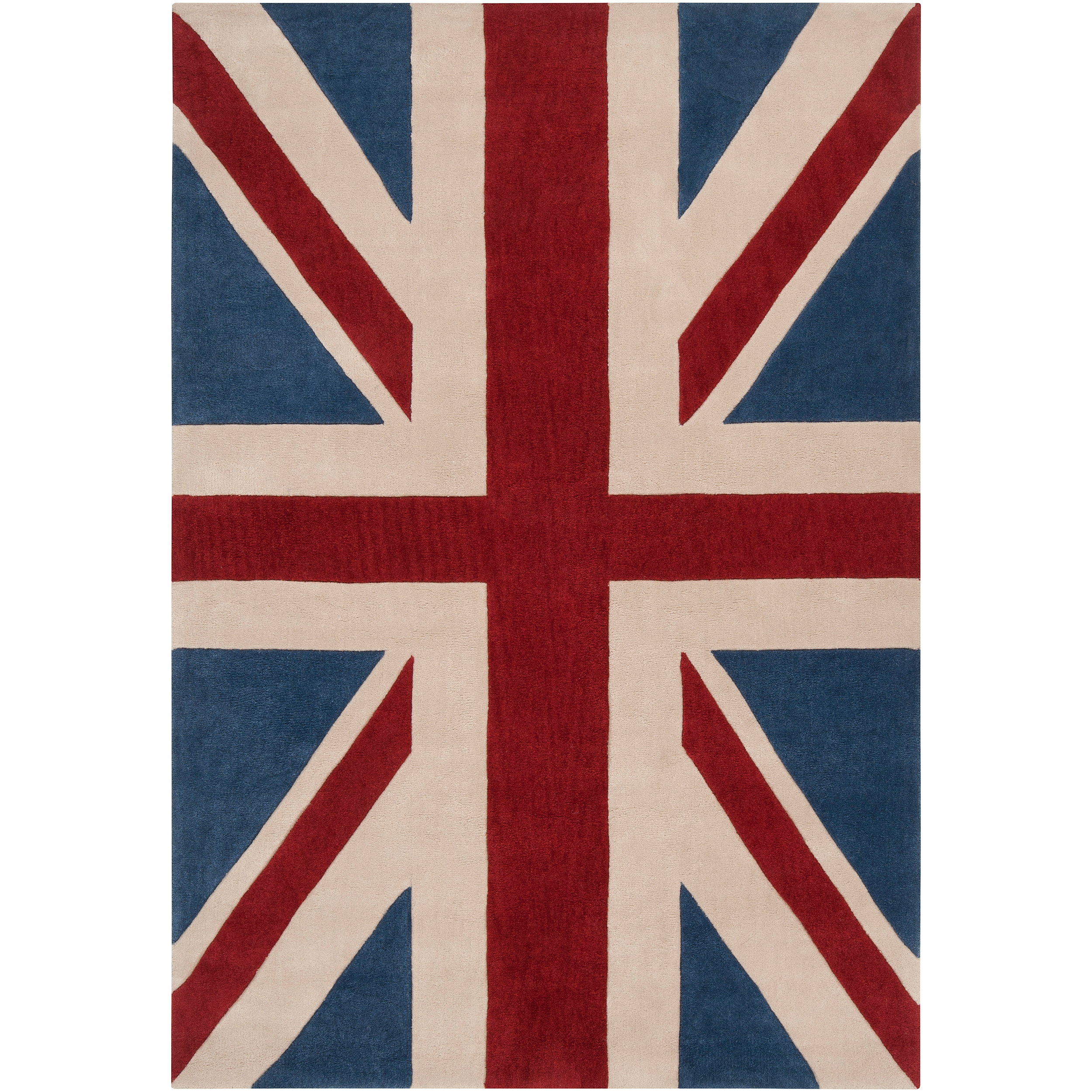 Home Design Ot75bk6x9 Eorc Union Jack British Flag Rug In In British Flag Rugs (Image 7 of 15)