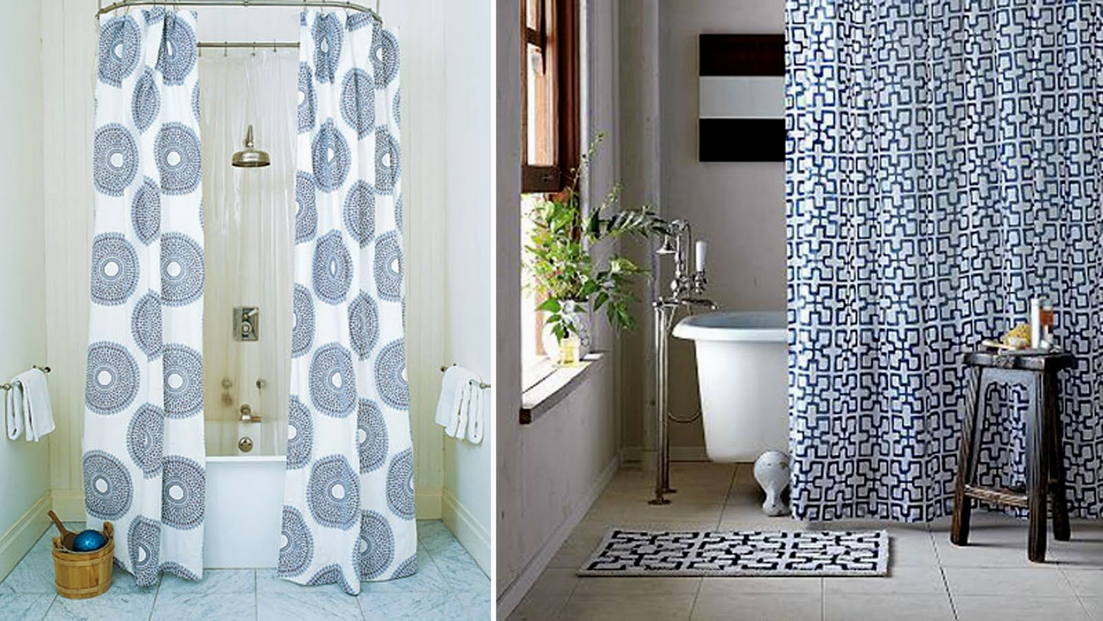 Home Tips Absolute Privacy And Relax With Crate And Barrel Regarding Double Panel Shower Curtains (View 25 of 25)