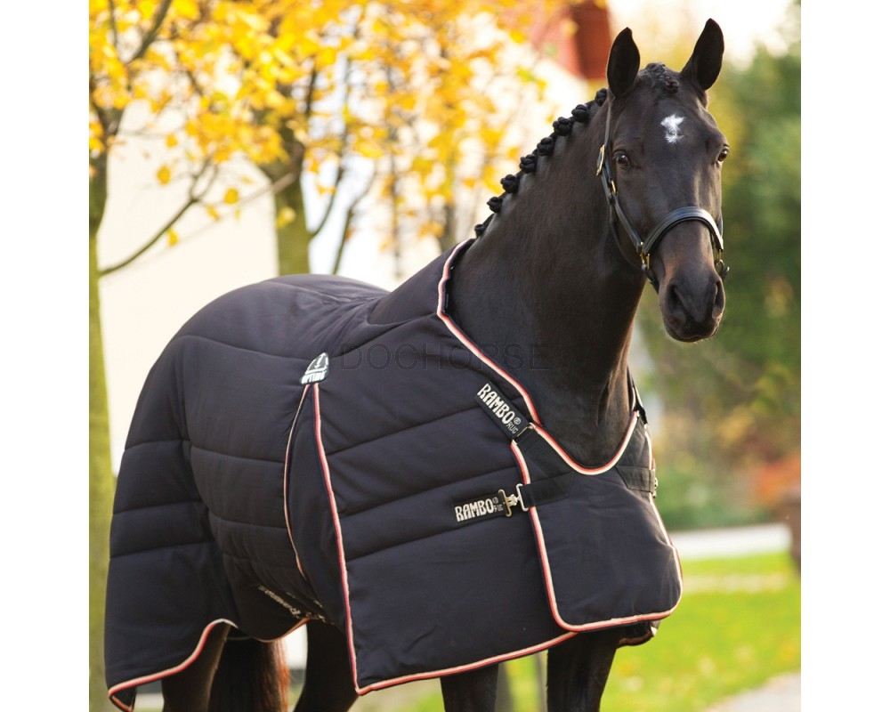Horseware Rambo Optimo Stable Rug Heavy Within Rambo Rugs (Image 6 of 15)