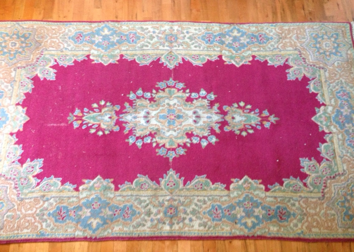 Hot Pink Rugs Persian Rug Sale Small Throw Rugs Manual 09 For Fuschia Pink Carpets (Image 9 of 15)