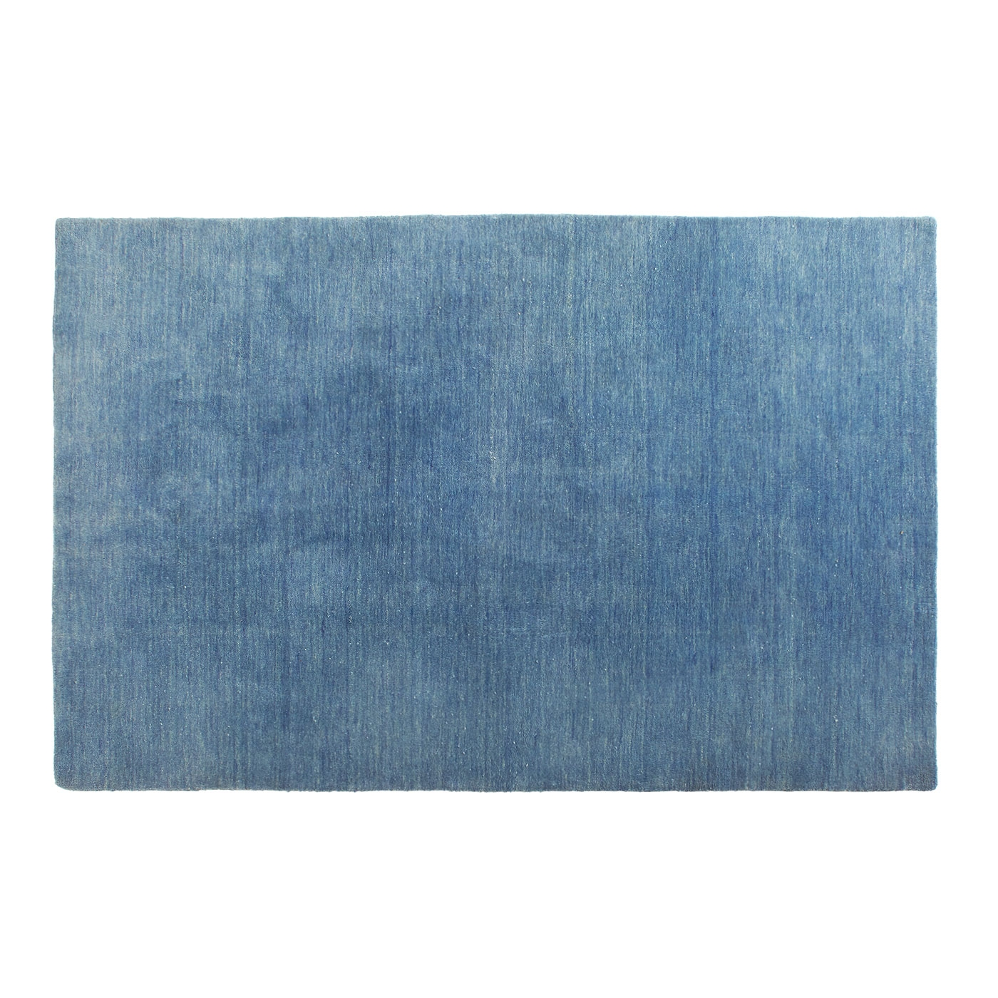 Hotel 3 X 5 Rug Hand Knotted Wool Rug Blu Dot With Wool Blue Rugs (Image 9 of 15)