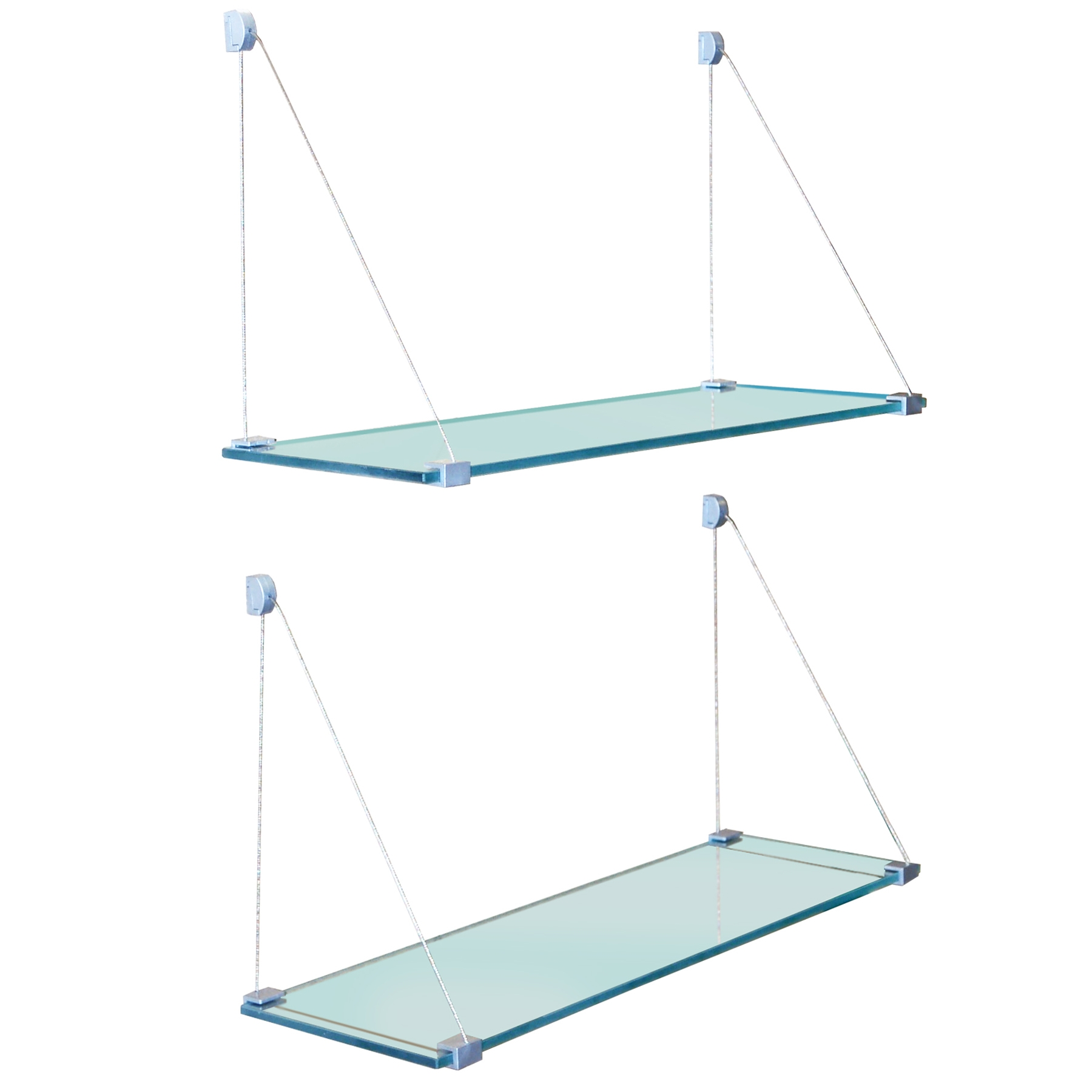 Featured Image of Glass Suspension Shelves