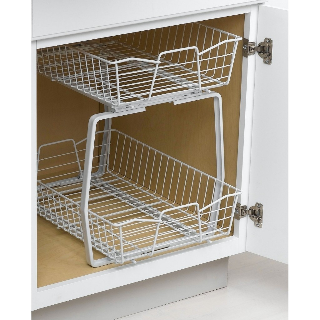 How To Add More Kitchen Cabinet Organizers And Pantry Home Pertaining To Cupboard Organizers (Image 10 of 25)