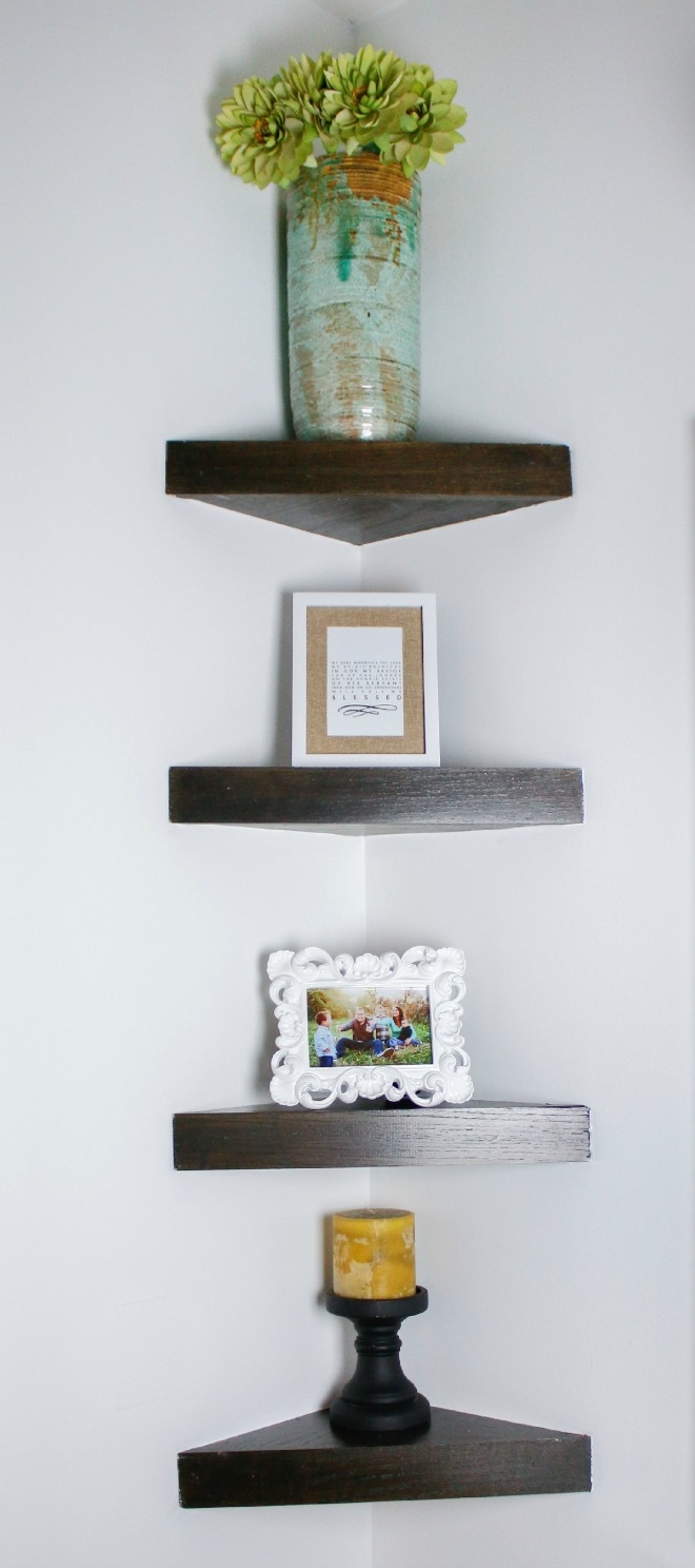 How To Build A Corner Shelf Regarding Corner Shelf (Image 10 of 15)