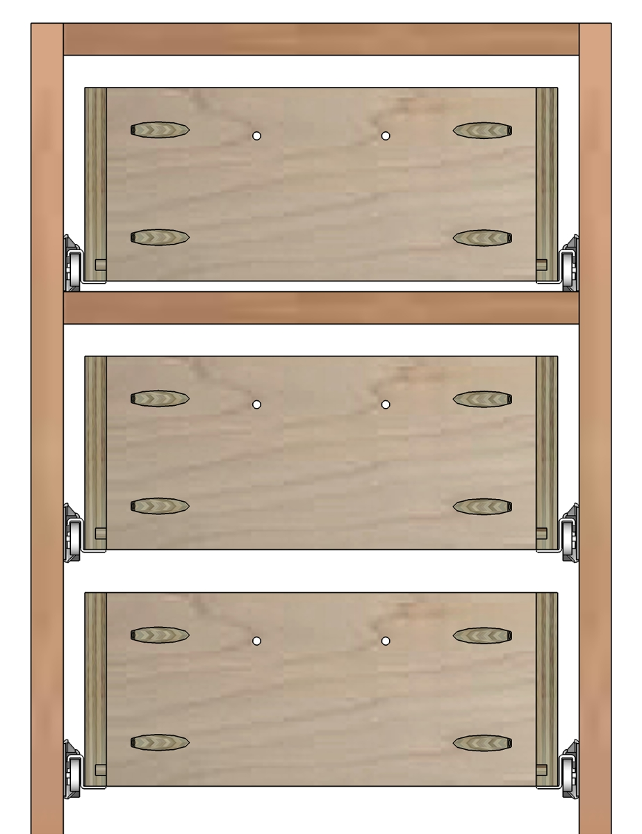 How To Build Drawer Boxes With Regard To Cupboard Drawers (Image 17 of 25)