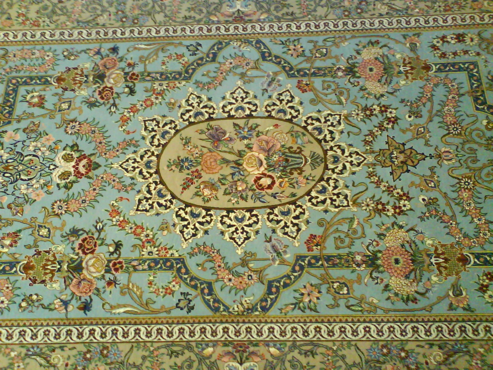 How To Buy A Persian Rug Regarding Green Persian Rugs (Image 14 of 15)