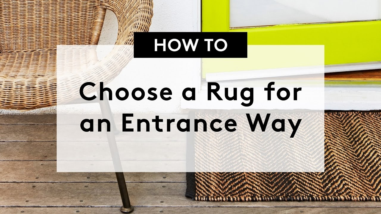 How To Choose A Rug For An Entrance Way Entrance Runners Within Entrance Runners (Image 7 of 15)