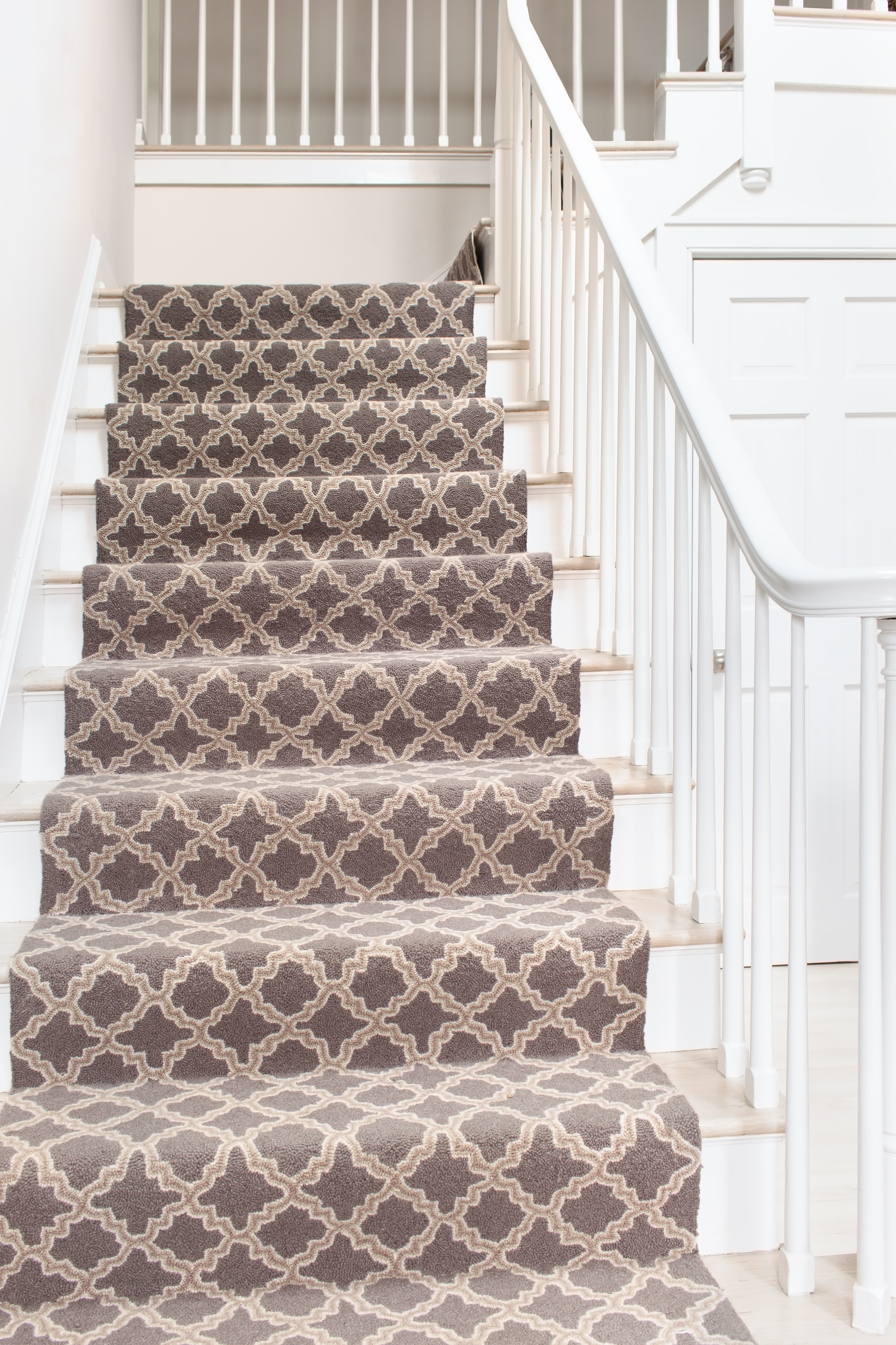 How To Choose A Runner Rug For A Stair Installation In Rugs For Staircases (Image 9 of 15)