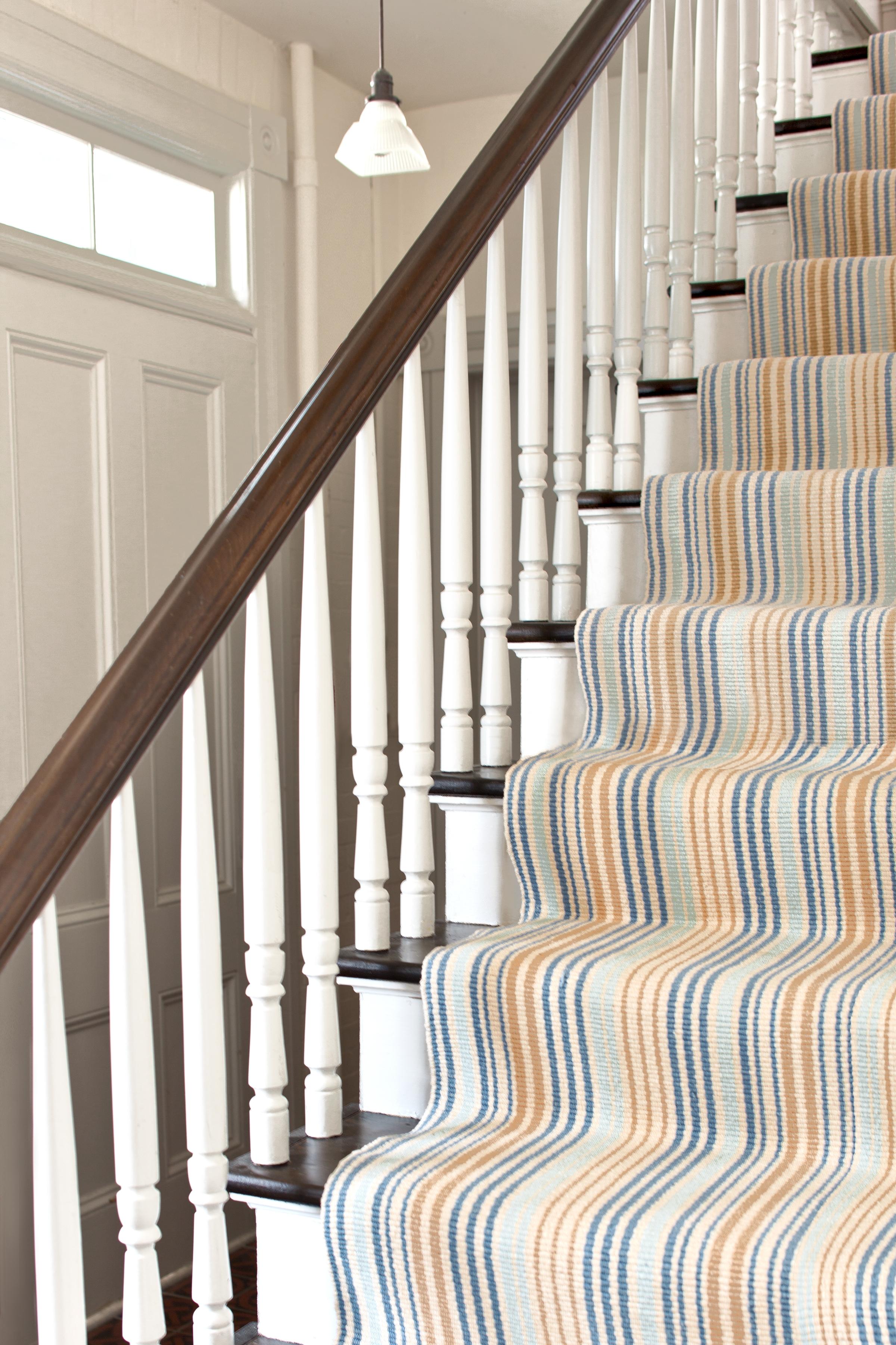 How To Choose A Runner Rug For A Stair Installation Intended For Rugs For Staircases (Image 11 of 15)